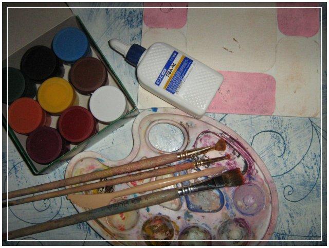Картины своими руками из красок