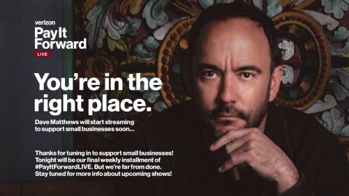 Dave Matthews - Pay It Forward Live (2020) HD 720p