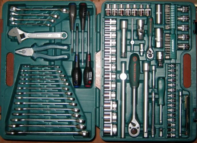 Наборы инструментов: рекомендации при выборе и покупке