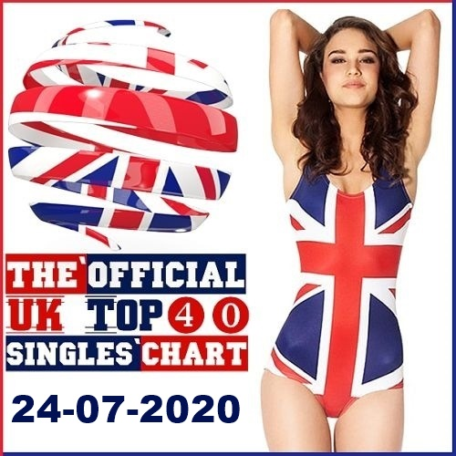 The Official UK Top 40 Singles Chart (24-July-2020)