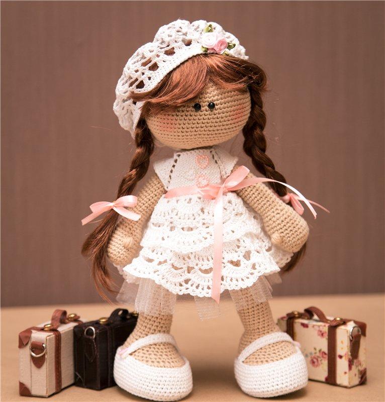 Своими руками кукла крючком