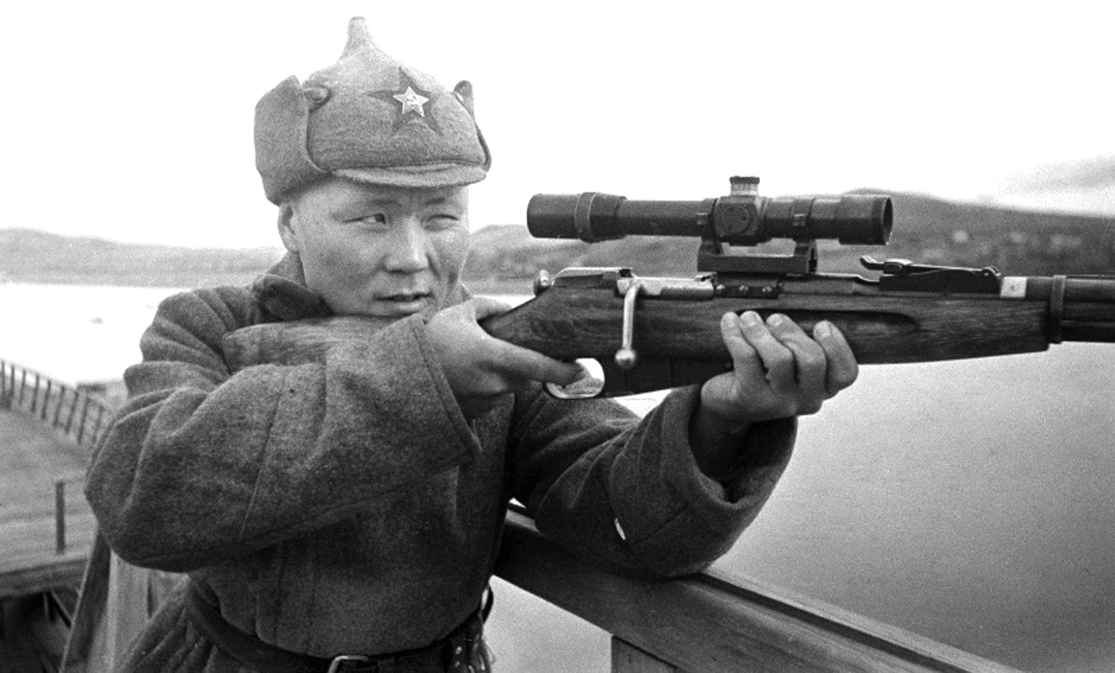 Советские снайперы вов фото