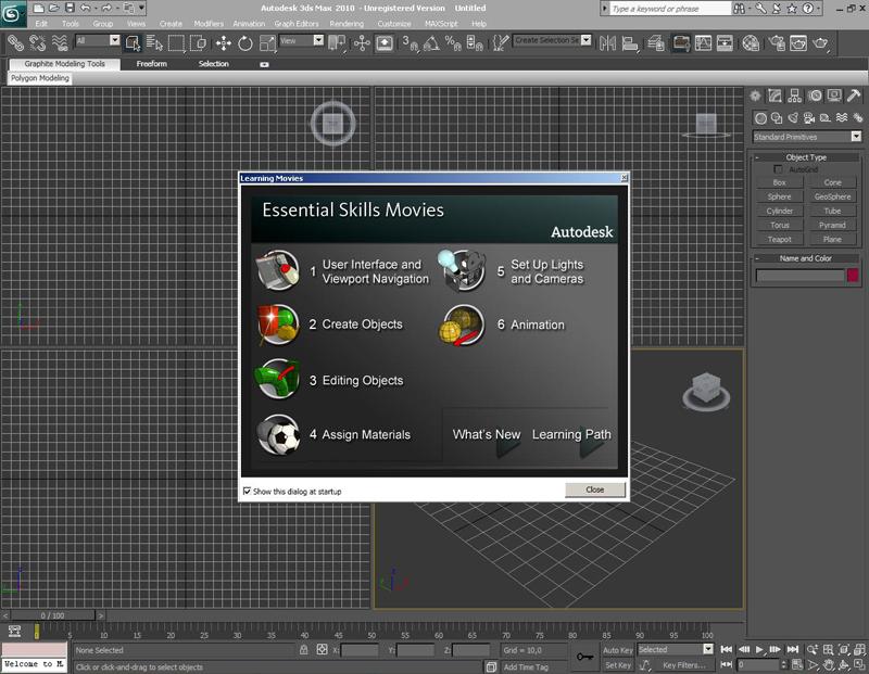Скачать Autodesk 3ds Max and 3ds Max Design 2011 x32/x64. В комплекте