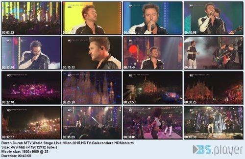 Duran Duran - MTV World Stage: Live Milan
