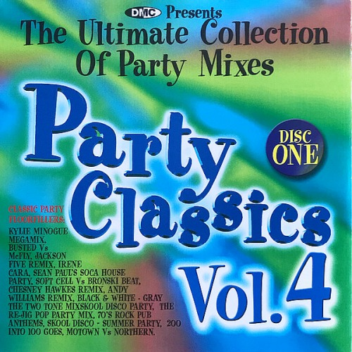DMC Party Classics Vol. 02-04 (Partially Mixed Quality Of This Classic Release)