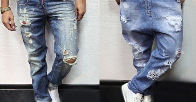 Джинсы: самая популярная мужская брендовая одежда