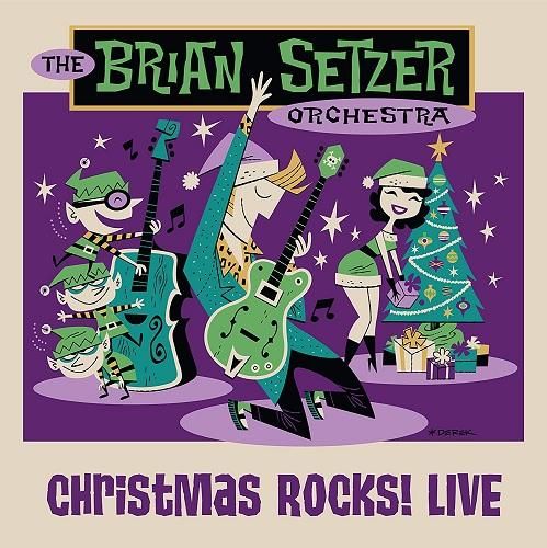 The Brian Setzer Orchestra - Christmas Rock! Live (2018) BDRip 720p