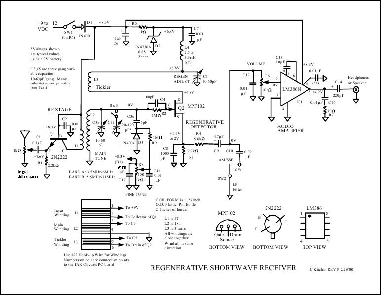regenerative - Лучшие схемы и описания для всех.