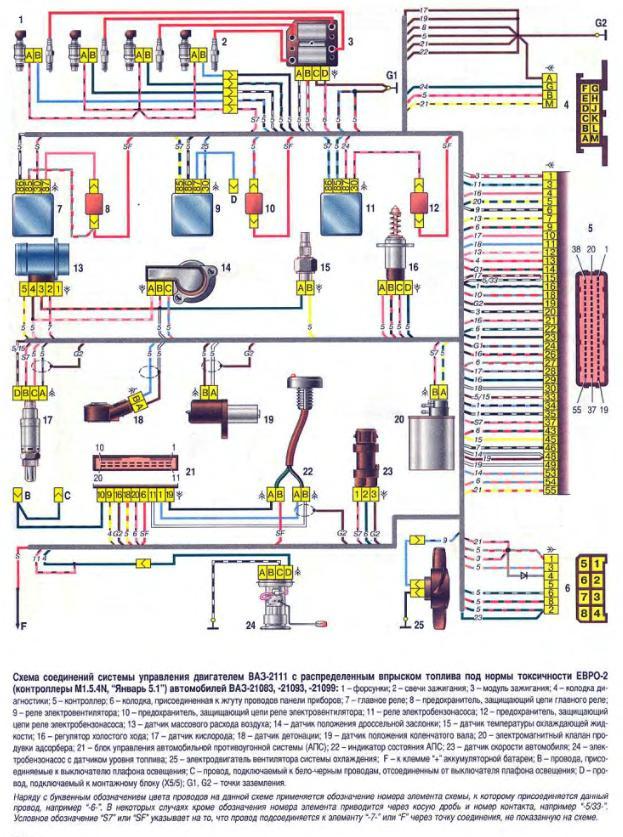 Подключение датчика температуры ваз 2106 схема подключения