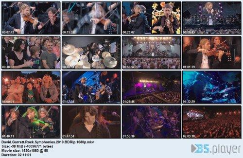 David Garrett - Rock Symphonies (2010) BDRip 1080p