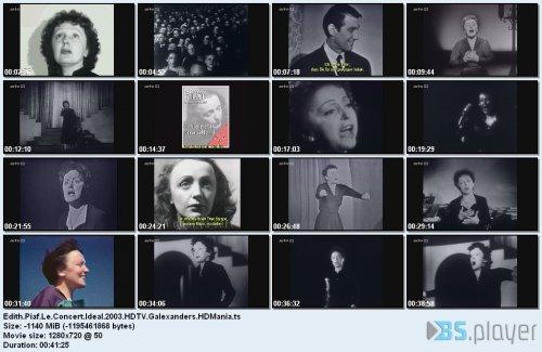 Edith Piaf - Le Concert Ideal