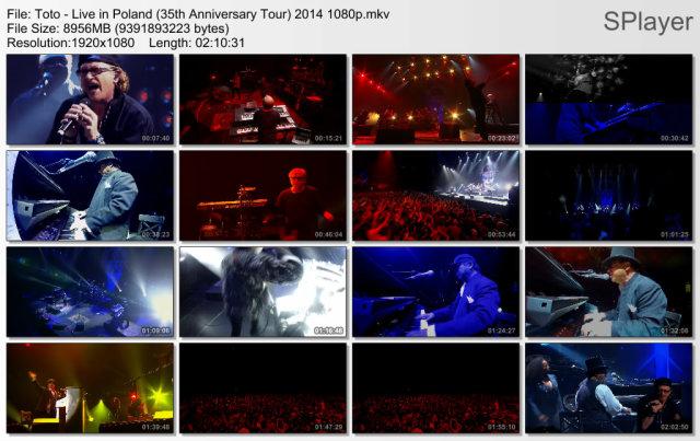 Toto - Live in Poland (35th Anniversary Tour) (2013) BDRip 1080p