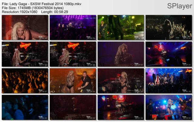 Lady Gaga - SXSW Festival (2014) HD 1080p
