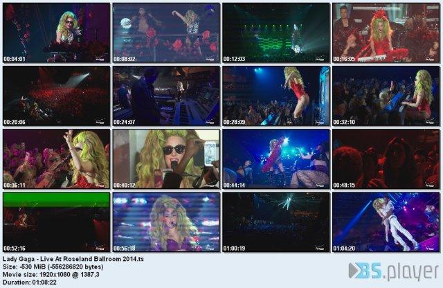 Lady Gaga - Live At Roseland Ballroom (2014) HDTV