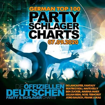 VA - German Top 100 Party Schlager Charts [07.09] (2020)
