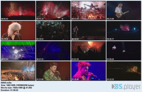 Queen + Adam Lambert - Live Around the World (2020) BD