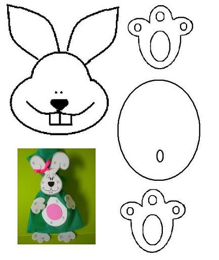 Игрушки своими руками для кролика