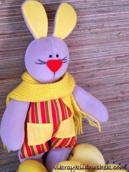 Сшить мягкую игрушку своими руками выкройки зайца