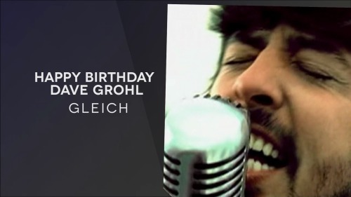 Foo Fighters - Happy Birthday, Dave Grohl