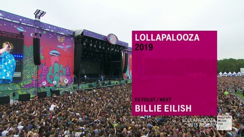 Billie Eilish - Lollapalooza Berlin (2019) HD 1080p