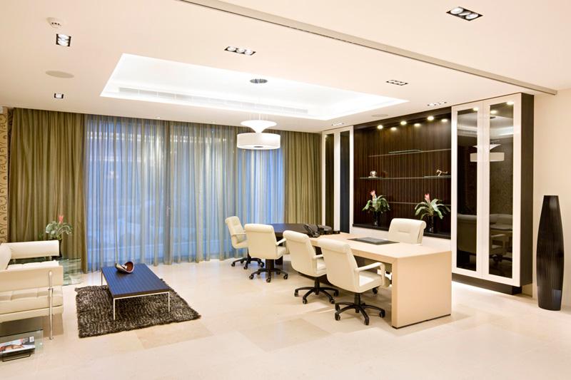 Профессиональный дизайн в офисе — клиенты будут в восторге