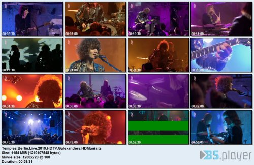 Temples - Berlin Live (2019) HDTV