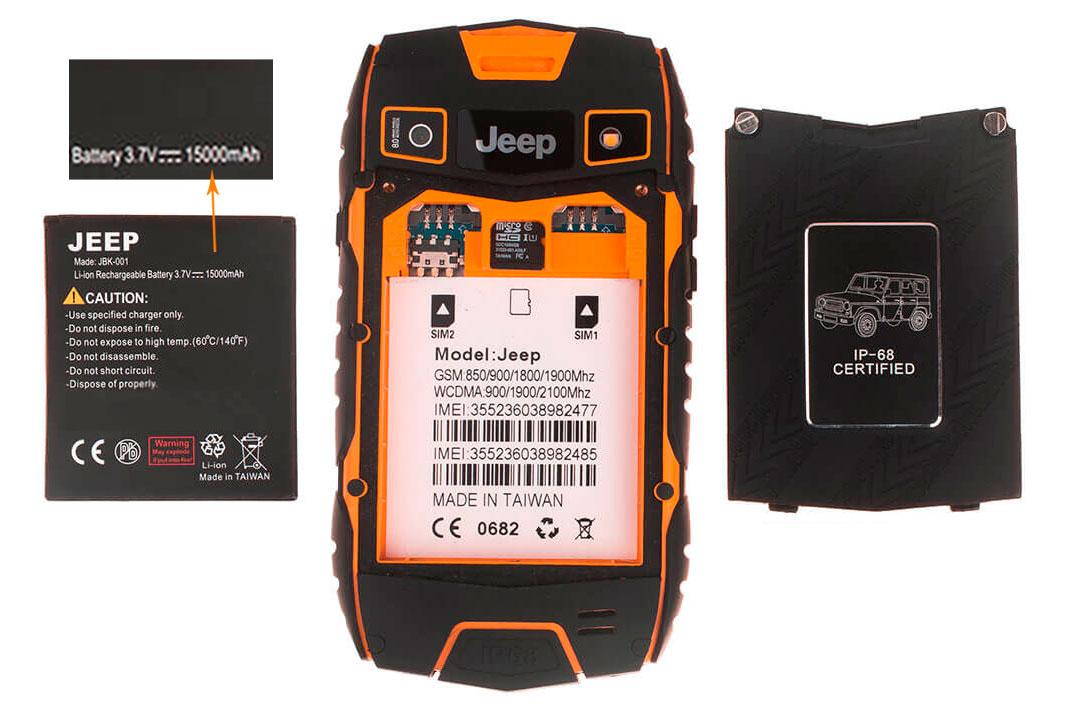 смартфон jeep z6